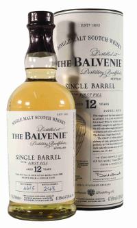 Balvenie 12 years old, Single First Fill Bourbon C